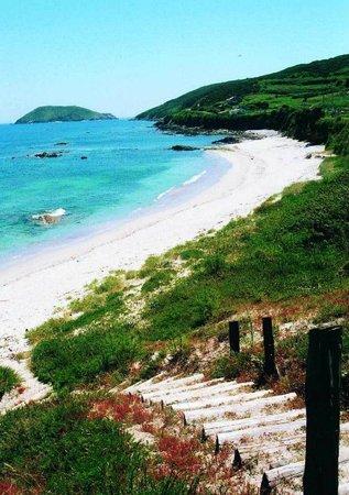 Barco Isla de Ons - Cruceros Rias Baixas: Playa Ons