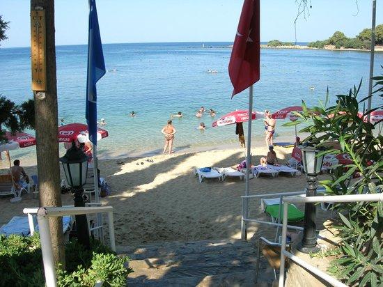 Incekum Su Hotel: Zugang zum hoteleigenen Strand