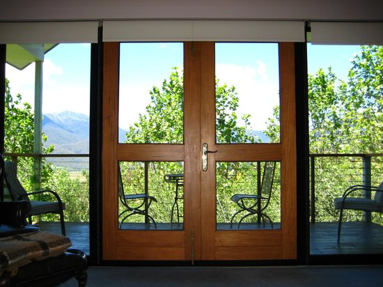 The Birches Luxury Spa Chalets: French Doors