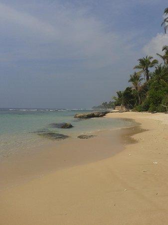 WB Villa : La spiaggia su cui si affaccia WB