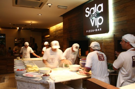 Sala Vip Pizza Bar Guarujá