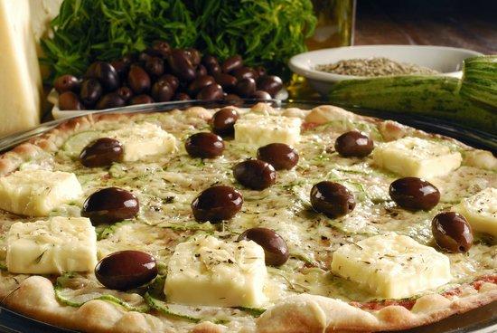 Sala Vip Pizza Bar: Pizza Provance - Abobrinha Lignt