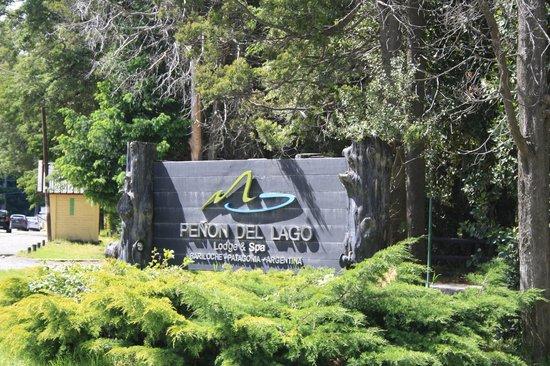 Penon Del Lago Lodge & Resort: Entrada del hotel