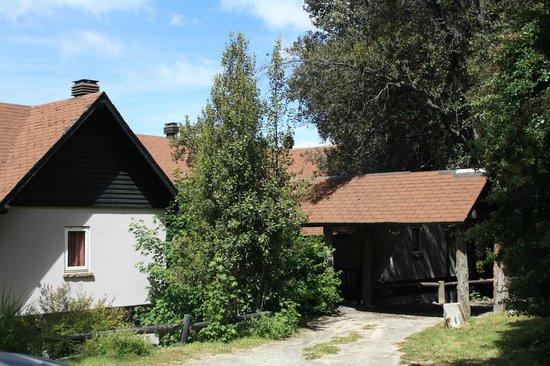 Penon Del Lago Lodge & Resort: Sección de habitaciones