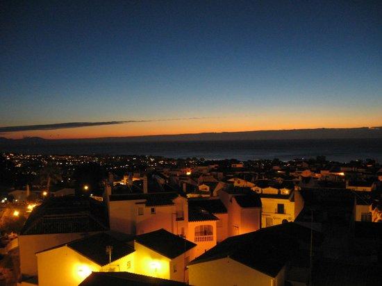 Hotel Casa Rosa : Vue de notre terrasse