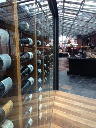 Hyatt Regency Mainz: Wine selection...