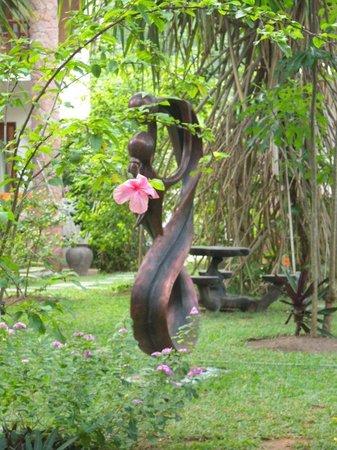 Le Duc de Praslin: vue jardin