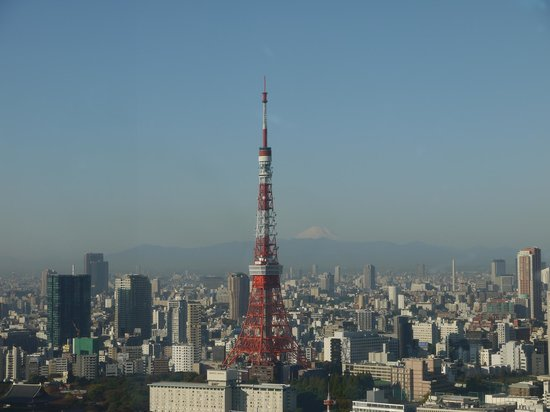 Park Hotel Tokyo: Superb view from the room
