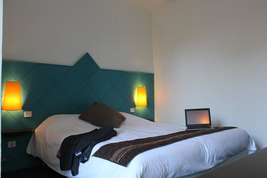 Inter Hotel Bristol : Inter-Hotel Bristol : vue sur la chambre confort