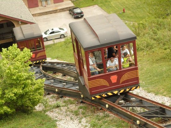 Altoona, Pennsylvanie : The Funicular (Horseshoe Curve)