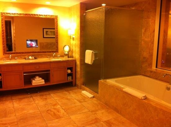 Trump International Hotel Las Vegas: bagno fantastico