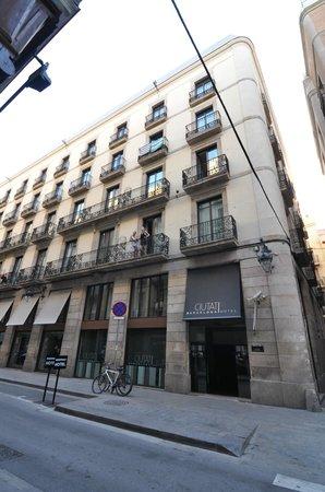 Hotel Ciutat de Barcelona: Façade