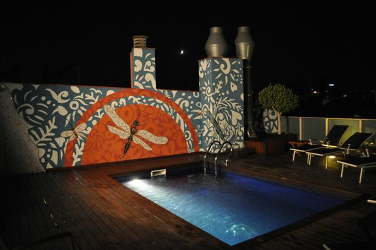 Hotel Ciutat de Barcelona: Piscine sur le toit