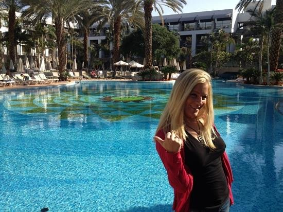 Isrotel Agamim: the most beautiful pool in Eilat