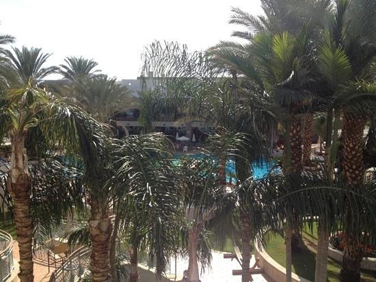Isrotel Agamim: view from room 341