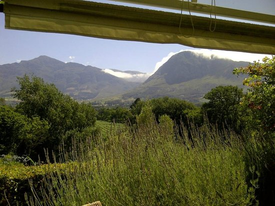 Le Franschhoek Hotel & Spa: view