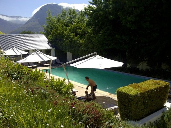 Le Franschhoek Hotel & Spa: Pool