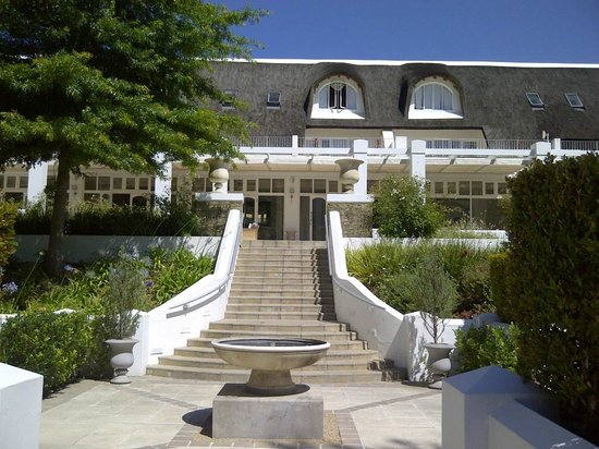 Le Franschhoek Hotel & Spa: from the pool