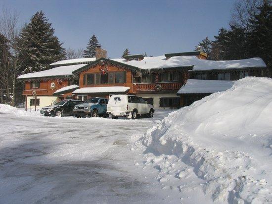 Kitzhof Inn in the winter