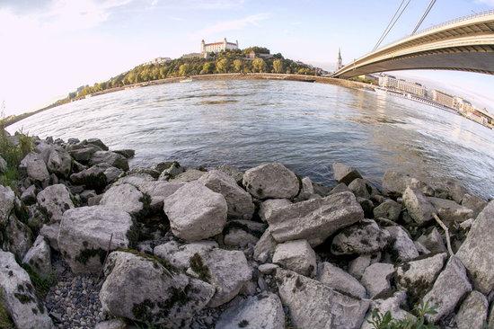 Bratislava - riverside Danube