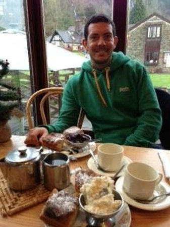 Abbey Mill: Cream tea for two...