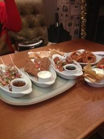 The George Hotel Chepstow: Sharing plates