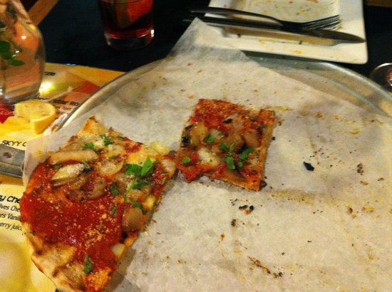 Timmy's Legendary Grilled Pizza: Delicious grilled pizza!
