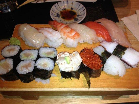 Oka Sushi : Amazing!