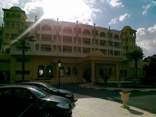 Hotel Palace Hammamet Marhaba: Vue de l'extérieur