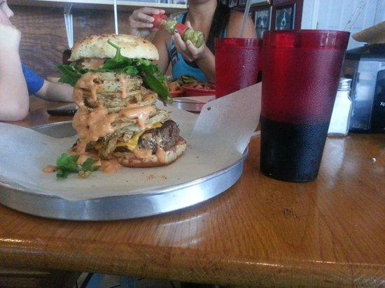Tucker Duke's: Tucker Duke burger. sooo good