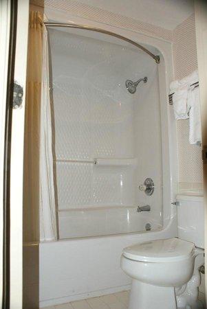 Quality Inn near Six Flags: Clean bathroom