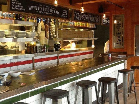 Pizzariach: The restaurant