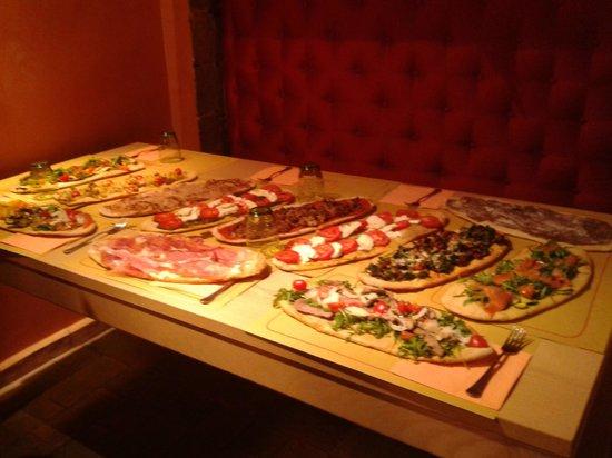 Montefiascone, Italia: Focacce Etrusche di MammaPappa