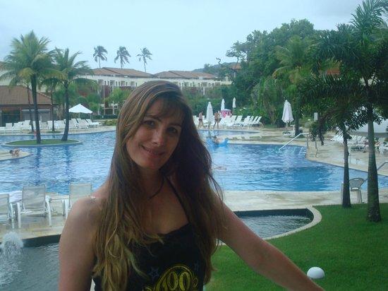 Sofitel Guaruja Jequitimar: vista da piscina