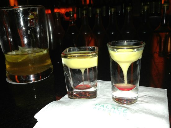 "Sun Palace: ""Tornado"" shots! so cool looking and very gooood!"