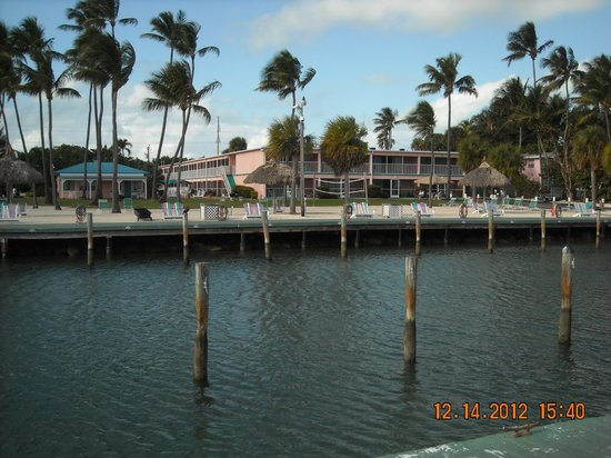 Breezy Palms Resort: Dock area