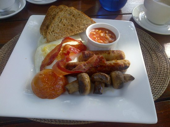 Flindt Patisserie and Bistro: Full English at Flindt