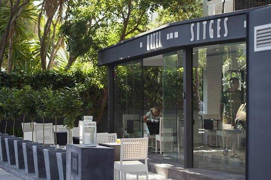 Hotel Sitges: EXTERIOR, TERRAZA