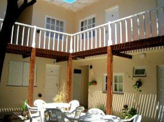 Hosteria Costa Bonita : patio