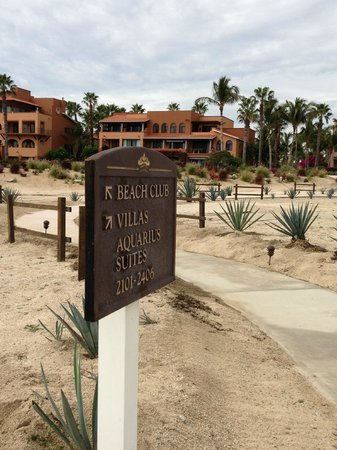 Casa del Mar Golf Resort & Spa: Directions to room