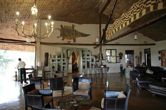 Mbalageti Safari Camp Ltd: Reception