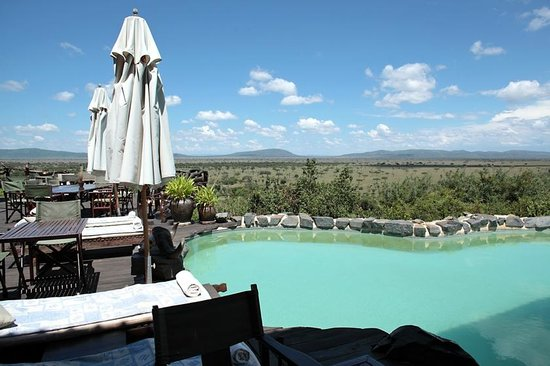 Mbalageti Safari Camp Ltd: The swimming pool