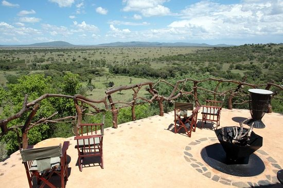 Mbalageti Safari Camp Ltd: View from the restaurant