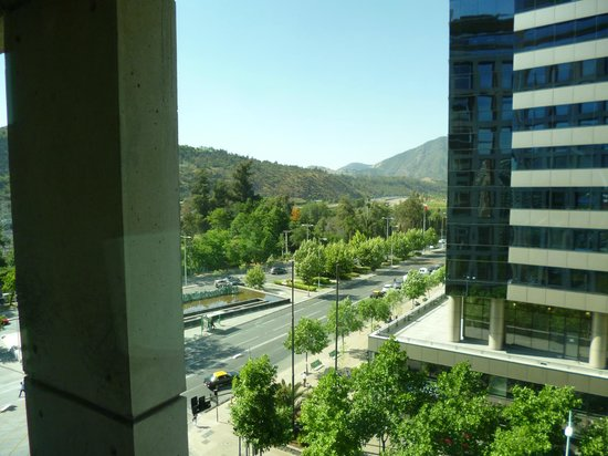 Holiday Inn Express Santiago Las Condes: View from 6th floor room