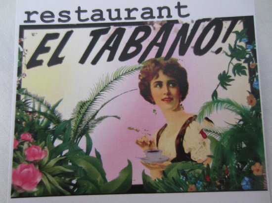 El Tábano: Their card