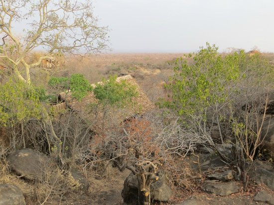 Maweninga Camp: View from deck