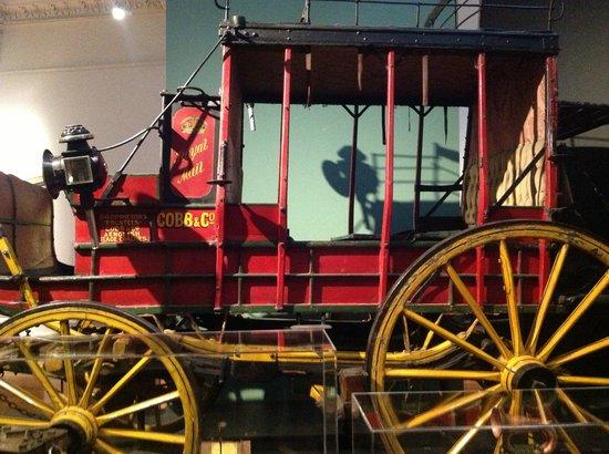 Toitu Otago Settlers Museum: Goldfields stage coach
