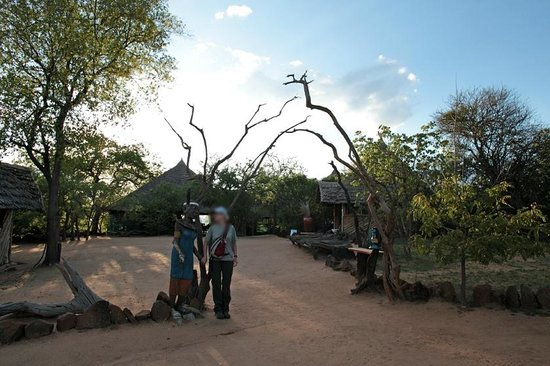 Kikoti Safari Camp: Camp Entrance