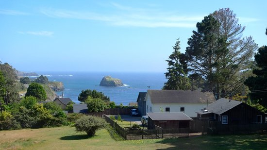 Glendeven Inn Mendocino : the common view