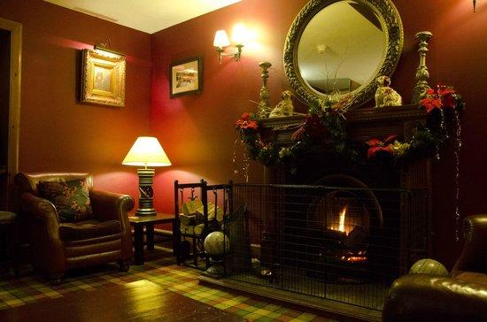 Garth Hotel & Restaurant: Residents Lounge